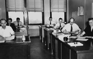 Stay in the Loop - Transitions Office Solutions, Workplace Installs – Then And Now