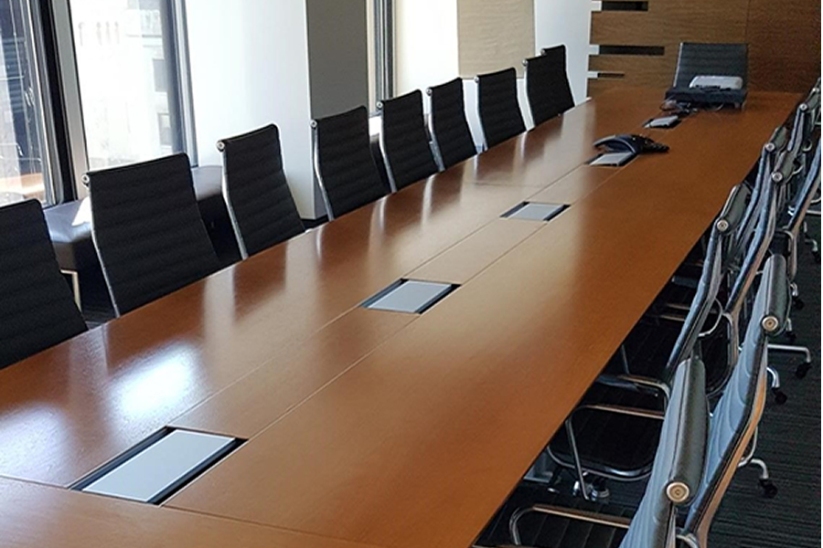 24' BOARDROOM TABLE - Transitions Solutions Office Solutions that work.