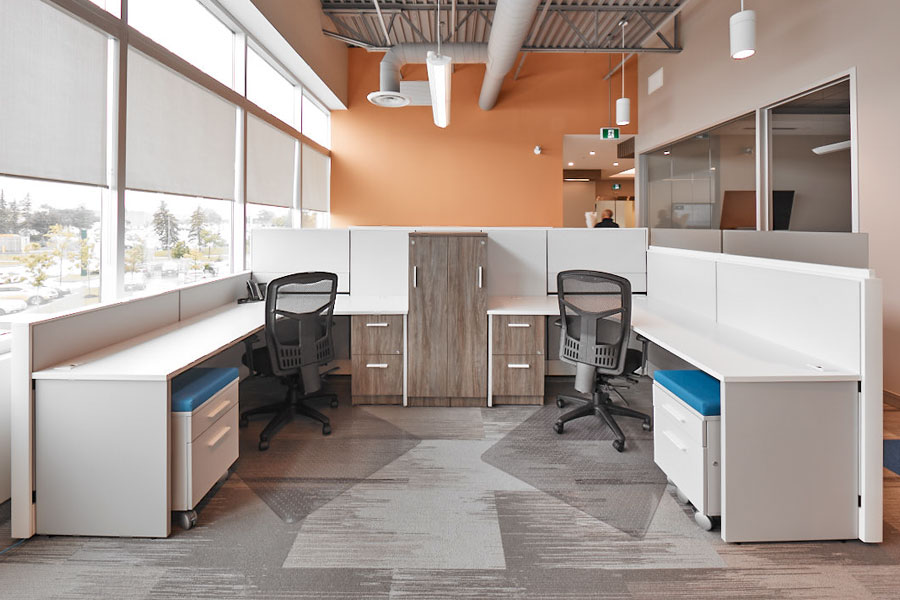 Airline Office - Recent Projects, Tayco brand at Transitions Office Furniture